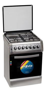 Imagen de Cocina combinada Enxuta 3+1 CENX646 Inox