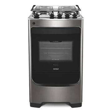 Imagen de Cocina a gas Consul 50cm 4h INOX