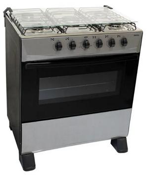 Imagen de Cocina a gas Kiland 5h con encendido GRIS