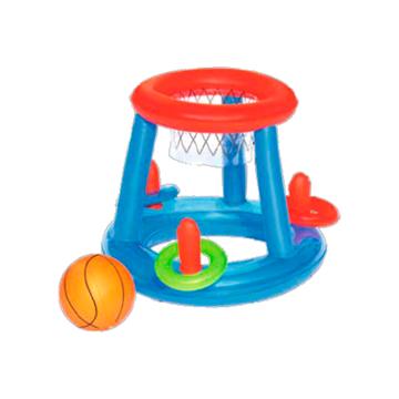 Imagen de Set Juego De Piscina Aro De Basket + Pelota Bestway 52190
