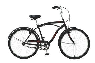 """Imagen de Bicicleta Okan BLUZZ 26"""" Hombre negra"""