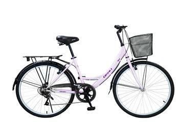 "Imagen de Bicicleta Okan DAMA 26"" BERNA LILA"