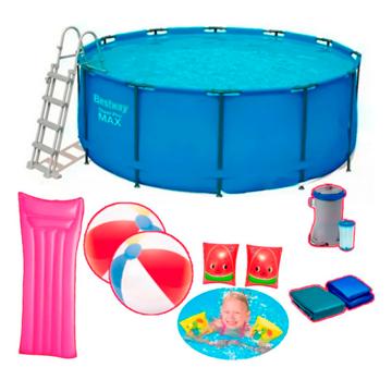 Imagen de Combo Bestway 10250 piscina y accesorios