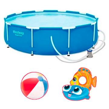 Imagen de Combo Bestway 4678 piscina y accesorios
