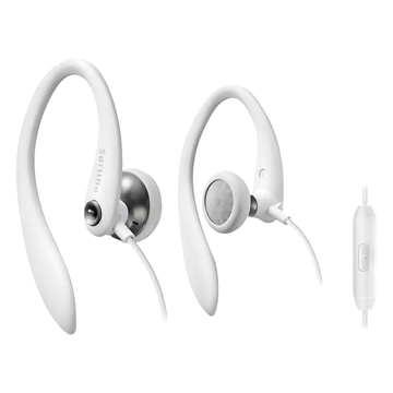 Imagen de Auriculares Philips Action fit SHS3305WT/10 blanco