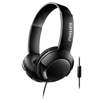 Imagen de Auriculares Philips ON EAR BASS negro SHL3075K/00