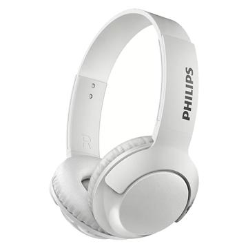 Imagen de Auriculares Philips SUPRAURALES blanco SBH3075WT/00 Micrófono