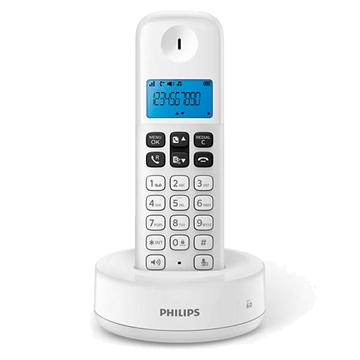 Imagen de Telefono inalámbrico Philips BLANCO D1311W/77