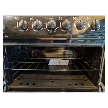 Imagen de Cocina a gas Kiland 5h con encendido NEGRO
