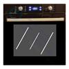 Imagen de Combo Horno Eléctrico digital Turbina Anafe cristal campana Negra