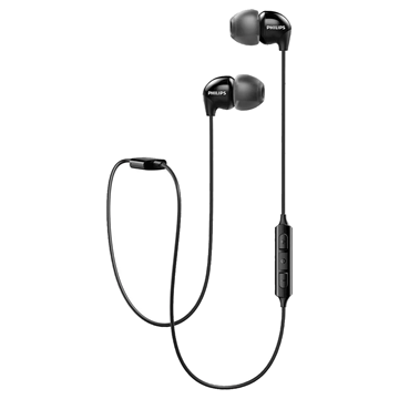 Imagen de Auricular in ear Bluetooth Philips SHB3595BK/00 negro