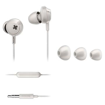Imagen de Auricular in ear BASS+ Philips SHE4305WT/00 BLANCO