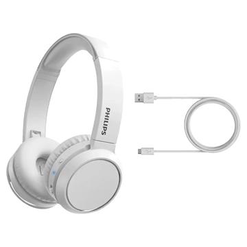 Imagen de Auricular on ear bluetooth Philips TAH4205WT/00 BLANCO